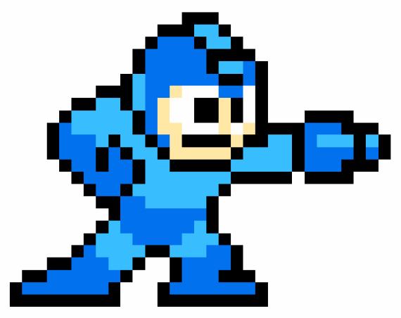 Reviews e Análises Mega-man-1-sprite-gif